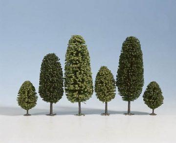 Laubbäume, 4 – 6,5 cm hoch, 10 Stück <br/>NOCH 32601 1