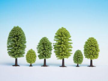 Laubbäume, 3,5 – 5 cm hoch, 25 Stück <br/>NOCH 32801 2