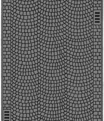 Kopfsteinpflaster, 100 x 4 cm <br/>NOCH 34222 1