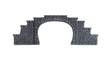 Tunnel-Portal, 1-gleisig, 5,5 x 6,5 cm <br/>NOCH 34400 1