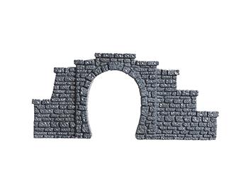 Tunnel-Portal, 1-gleisig, 5,5 x 6,5 cm <br/>NOCH 34400 2