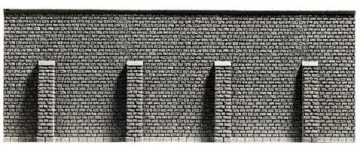 Stützmauer, extra lang, 39,6 x 7,4 cm <br/>NOCH 34857 1