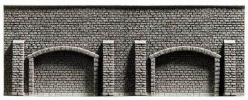 Arkadenmauer, extra lang, 39,6 x 7,4 cm <br/>NOCH 34859 1
