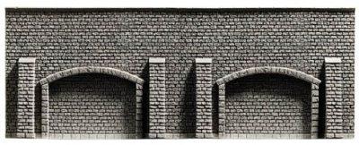 Arkadenmauer, extra lang, 39,6 x 7,4 cm <br/>NOCH 34859