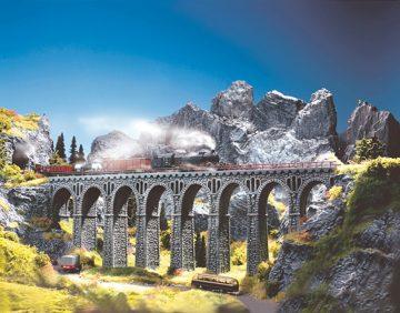 Brücke, Bruchsteinviadukt <br/>NOCH 34860 1