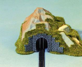 Tunnel-Portal, 1-gleisig, 9 x 4 cm <br/>NOCH 44420