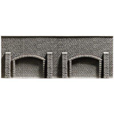 Arkadenmauer, 25,8 x 9,8 cm <br/>NOCH 48058