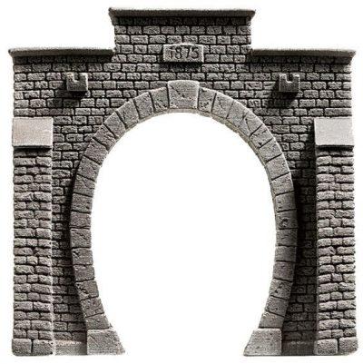 Tunnel-Portal, 1-gleisig, 13,5 x 12,5 cm <br/>NOCH 58051