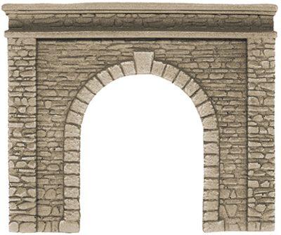Tunnel-Portal, 1-gleisig, 15 x 12,5 cm <br/>NOCH 58061