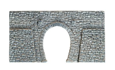 Tunnel-Portal, 1-gleisig, 23,5 x 13 cm <br/>NOCH 58247