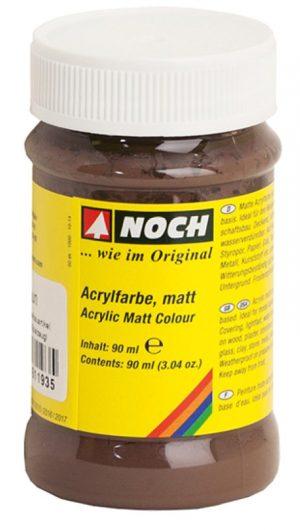 Acrylfarbe, matt, braun <br/>NOCH 61193