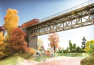 Brücke, Stahlbrücke <br/>NOCH 62810