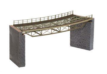 Brücken-Fahrbahn, gebogen, R2 437 mm <br/>NOCH 67026 1