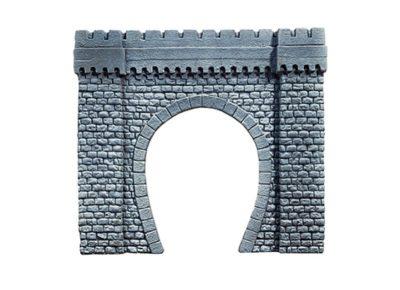 Tunnel-Portal, 1-gleisig, 44 x 37 cm <br/>NOCH 67350