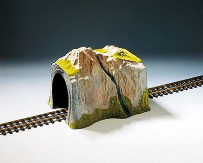 Tunnel, 1-gleisig, gerade, 38 x 32 cm <br/>NOCH 67660