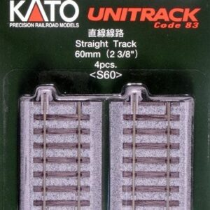 Gleis, gerade, 60 mm, 4 Stück KATO 7002105