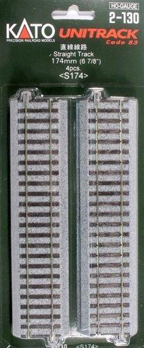 Gleis, gerade, 174 mm, 4 Stück <br/>KATO 7002130