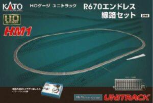 HM-1 R670 Gleisset mit Power <br/>KATO 7003104