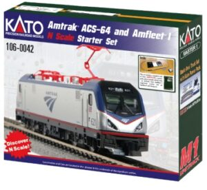 Amtrak ACS-64 & Amfleet I Sta <br/>KATO 701060042