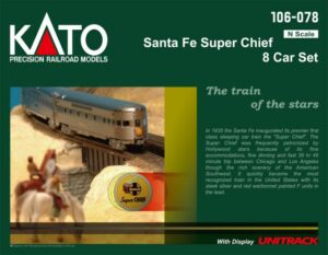 Santa Fe Super Chief 8er-Set <br/>KATO 70106078