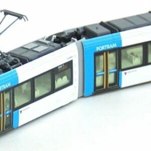 Straßenbahn, PORTRAM, TLR0606 blau KATO 70148014