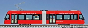 Straßenbahn, MLRV 1000, rot <br/>KATO 7014803 1