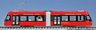 Straßenbahn, MLRV 1000, rot <br/>KATO 7014803