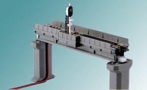 Viadukt-Gleiseinsatz für <br/>KATO 7077006