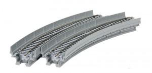Viadukt, NBS, mit Gleis gebogen KATO 7077103