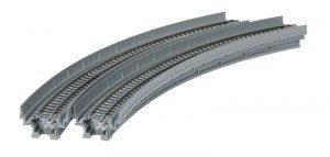 Viadukt, NBS, mit Gleis gebogen <br/>KATO 7077105