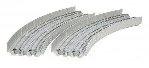 Viadukt, NBS, 2-gleisig mit Gleis gebogen <br/>KATO 7077106