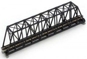 Brücke, Kasten-Brücke, schwarz <br/>KATO 7077204