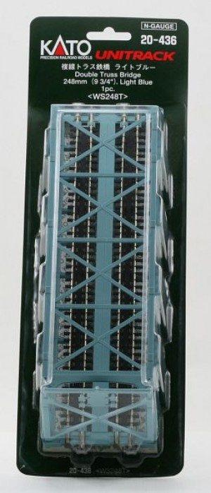 Brücke, Kasten-Brücke, 2-gleisig <br/>KATO 7077210