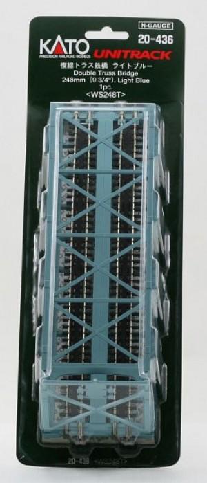Brücke, Kasten-Brücke, 2-gleisig <br/>KATO 7077210 1