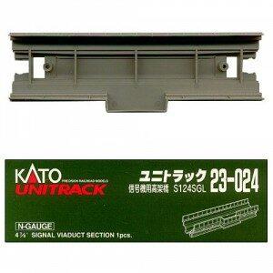 Viadukt, Gleiseinsatz für Sign <br/>KATO 7077303