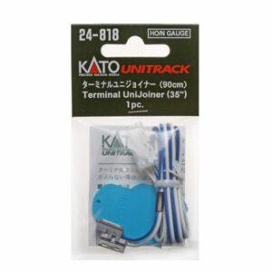 Anschluss-Kabel, 2-polig, blau-weiß KATO 7077508