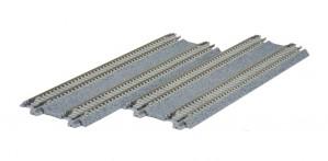 Doppelgleis, Beton, gerade, 186 mm <br/>KATO 7078020