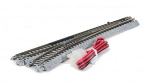 Weiche mit elektromagnetischem Antrieb, links <br/>KATO 7078200