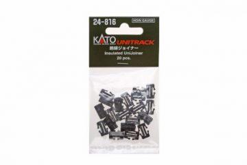 Schienenverbinder, isoliert 20 Stück <br/>KATO 7078508 1