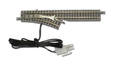 Weiche mit elektromagnetischem Antrieb, rechts, R127, 26° <br/>Rokuhan 7297023