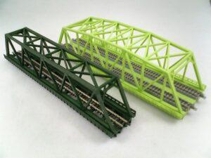 Brücke, Kasten-Brücke, 1-gleisig 220mm <br/>Rokuhan 7297042