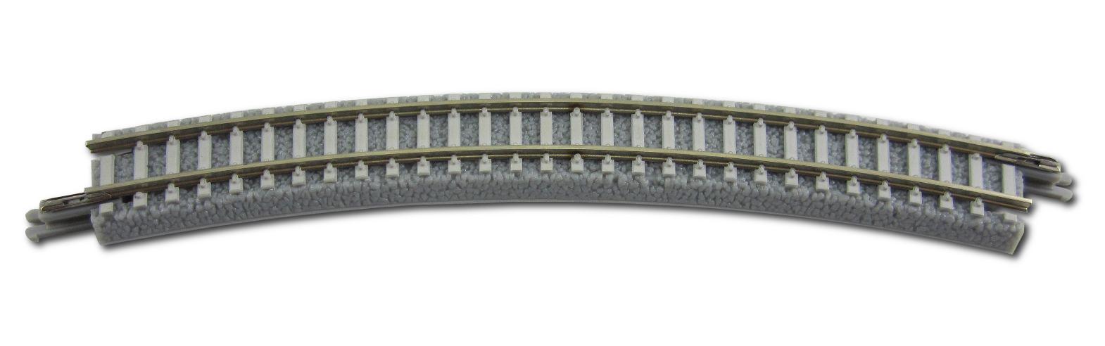 Rokuhan R052 Gleis gebogen R220-30°