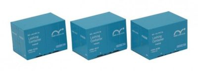 12' Container U19A, 3Stück <br/>Rokuhan 7297531