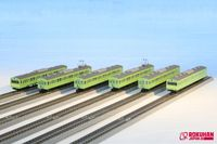 103 KANSAI Line Green (6-teil <br/>Rokuhan 7297837
