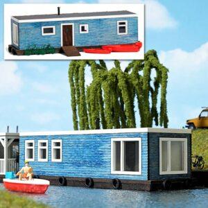 Hausboot Hellblau <br/>BUSCH 1439