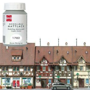 Modellbau Acrylfarbe weiß <br/>BUSCH 1702