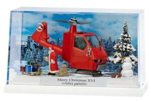 Kleindiorama: Merry Christmas XVI »Alles Paletti« <br/>BUSCH 7619