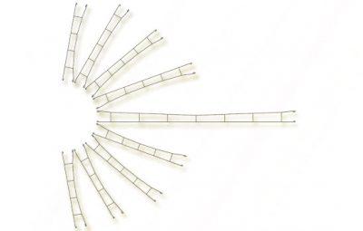 Fahrdrahtstück 172,5 mm, 5 Stück <br/>Viessmann 4132
