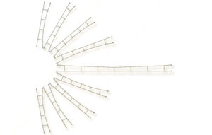 Fahrdrahtstück 142,0 mm, 5 Stück <br/>Viessmann 4133
