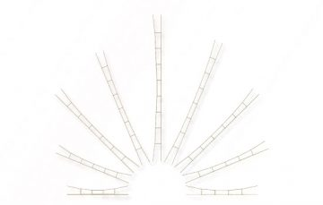 Universal-Fahrdrahtstück 210-240 mm, 3 Stück <br/>Viessmann 4153 1
